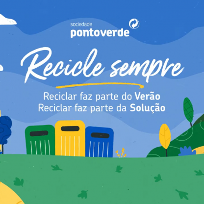PONTO VERDE - DICAS PARA RECICLAR NO VERÃO